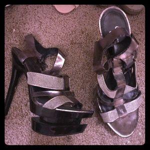 Hot Jessica Simpson platform heels